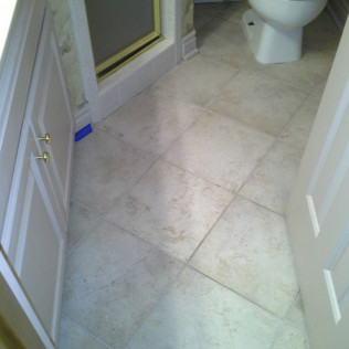 dirty grout cleaning before picture in tyler, tx