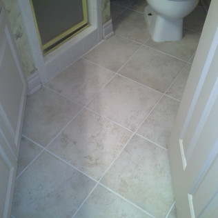dirty grout after cleaning in tyler, tx