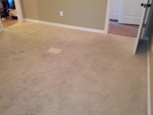 dirty carpet before cleaning in tyler, tx