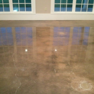 polished concrete flooring in tyler, tx