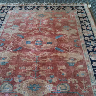 oriental rug after cleaning in tyler, tx